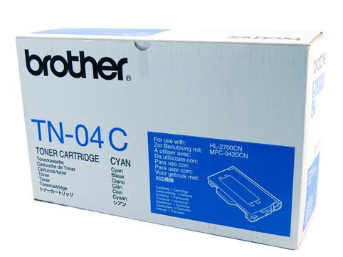 Brother Genuine TN-04C Cyan Toner cartridge