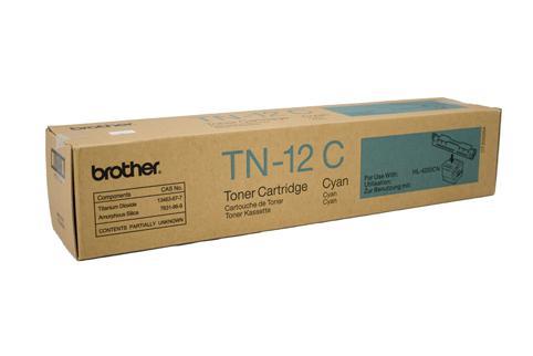 Brother Genuine TN-12C Cyan Toner cartridge