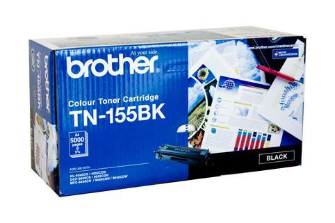 Brother Genuine TN-155BK Black Toner cartridge