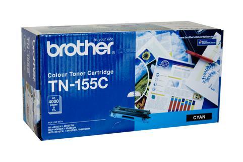 Brother Genuine TN-155C Cyan Toner cartridge