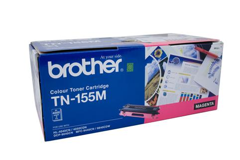 Brother Genuine TN-155M Magenta Toner cartridge