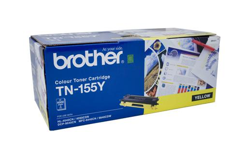 Brother Genuine TN-155Y Yellow Toner cartridge