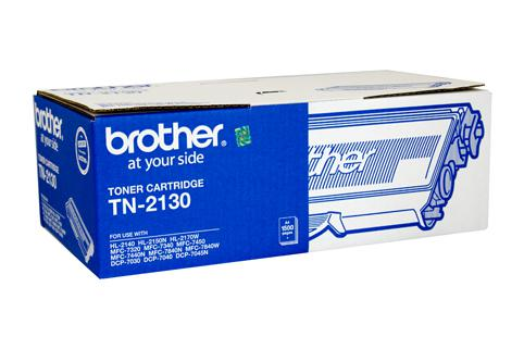 Brother Genuine TN-2130 Black Toner cartridge