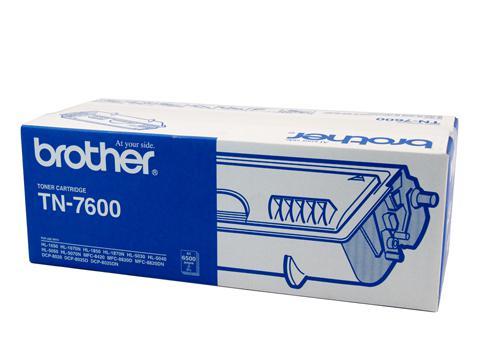 Brother Genuine TN-7600 Black Toner cartridge