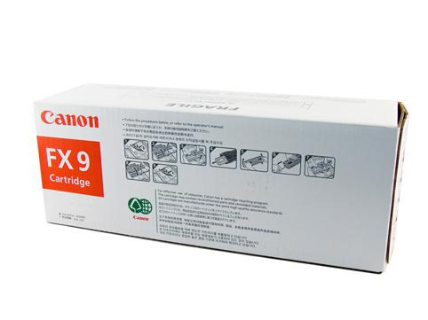 Canon Genuine FX-9 Black Toner cartridge