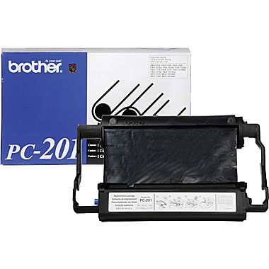 Brother Genuine PC-201 Black Fax film