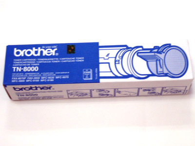 Brother Genuine TN-8000 Black Toner cartridge