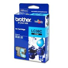 Brother Genuine LC-38C Cyan Ink cartridge