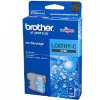 Brother Genuine LC67HYC Cyan Ink cartridge