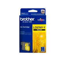 Brother Genuine LC67HYY Yellow Ink cartridge