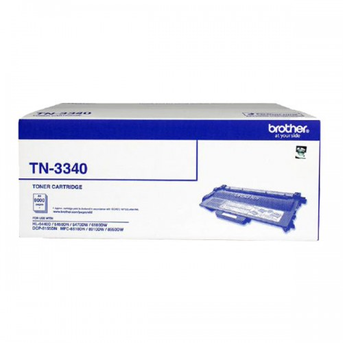 Brother Genuine TN-3340 Black Toner cartridge