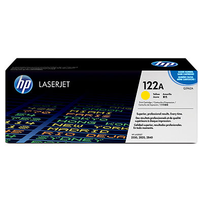 HP Genuine Q3962A Yellow Toner cartridge