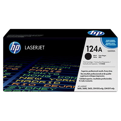 HP Genuine Q6000A Black Toner cartridge