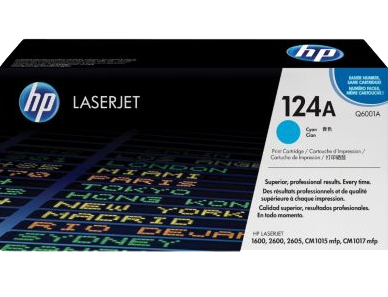HP Genuine Q6001A Cyan Toner cartridge