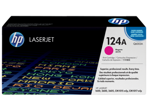 HP Genuine Q6003A Magenta Toner cartridge