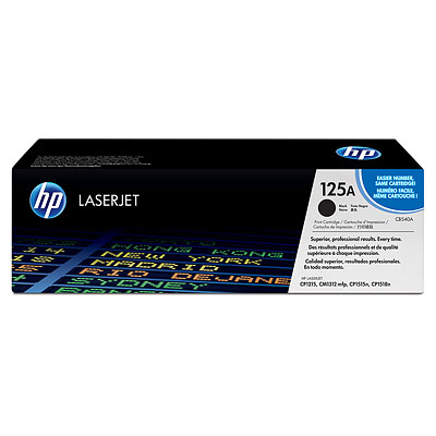 HP Genuine CB540A Black Toner cartridge
