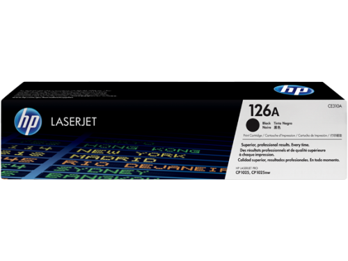 HP Genuine CE310A Black Toner cartridge