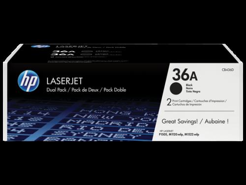 HP Genuine CB436AD Black Toner cartridge