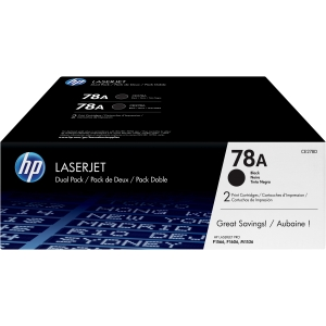 HP Genuine CE278AD Black (Twin-Pack) Toner cartridge